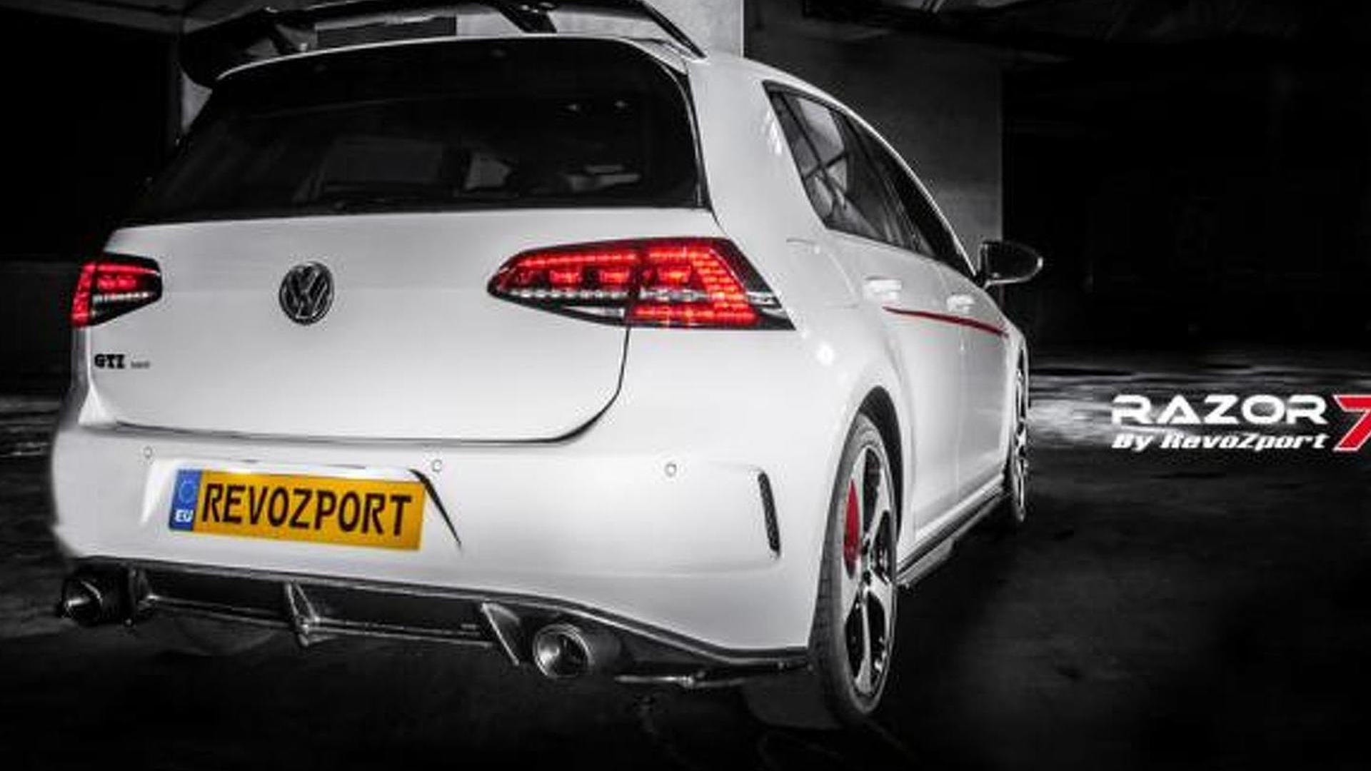 Тюнинг Volkswagen Golf GTI. Обвес от RevoZport