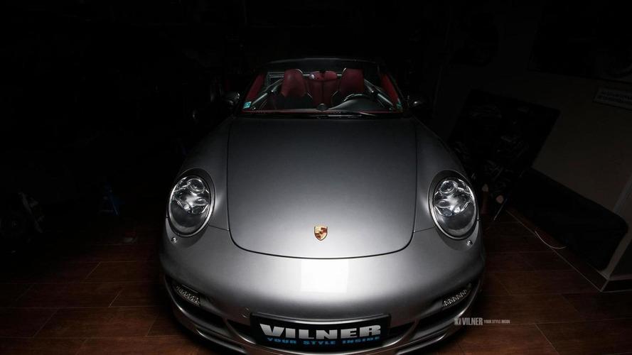 Vilner tunes Porsche 911 Turbo Convertible to 561 HP