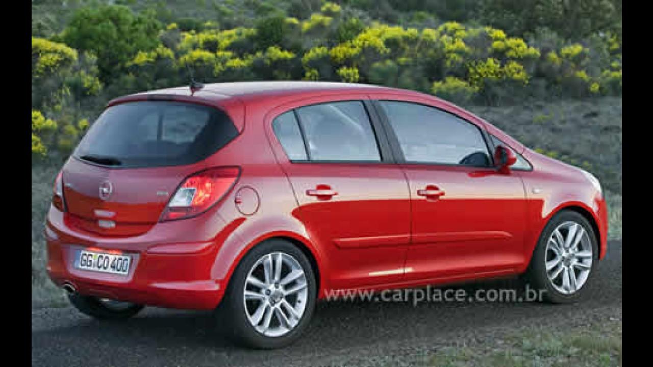 Novo Corsa da Opel ultrapassa a marca de 500 mil unidades vendidas na Europa