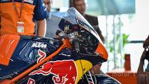The KTM MotoGP Bike, detail