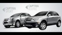 Captiva 2010 já aparece no site da Chevrolet com pequenas novidades - Preço parte de R$ 86.990