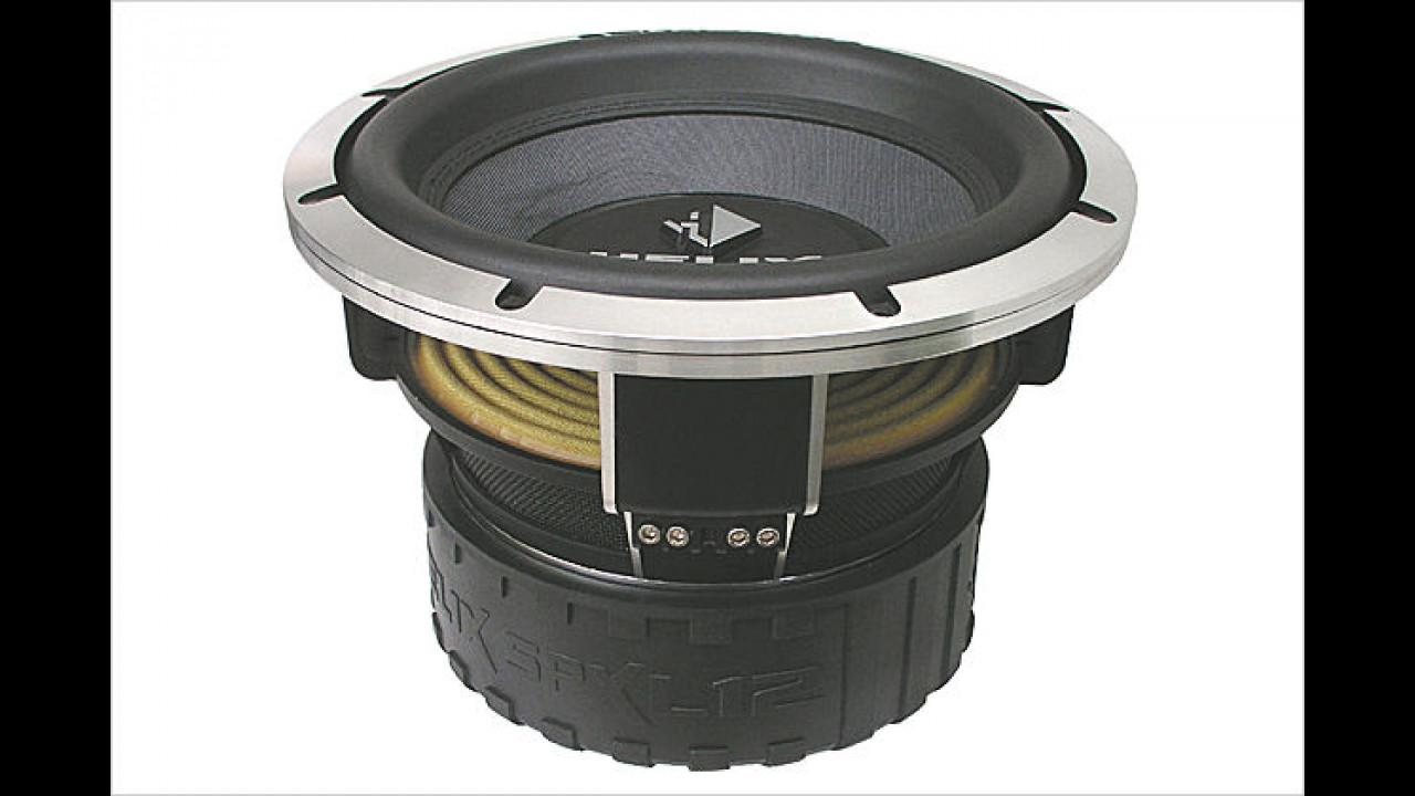 Audiotec Fischer Helix SPXL 12: Das Phon-Monster
