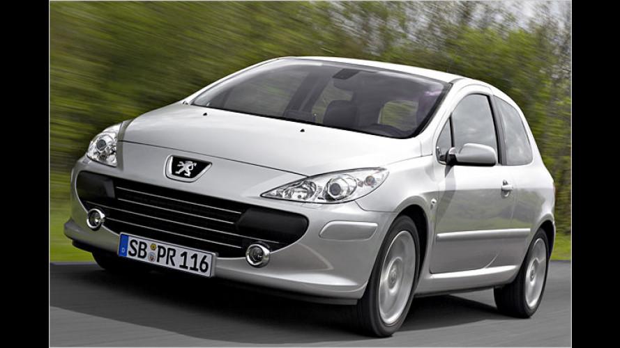 Kompakt und noch mehr drin: Peugeot 307
