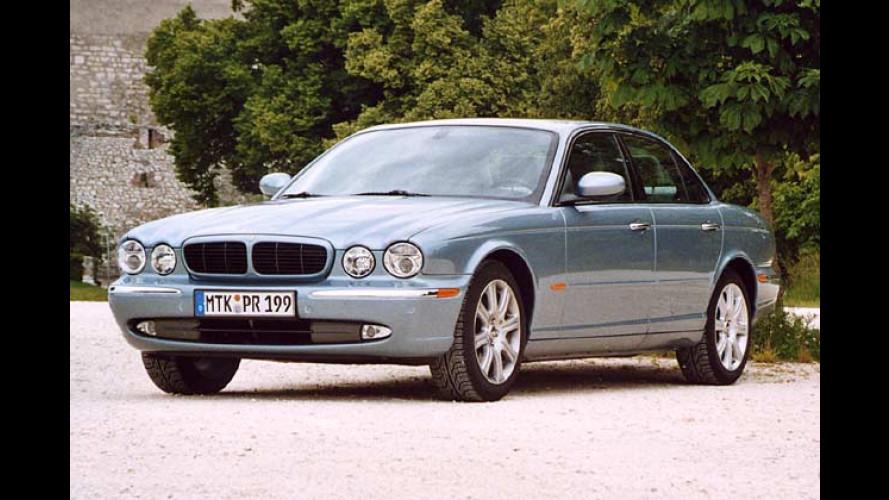 Jaguar XJ6: Britischer Edel-Gleiter im klassischen Anzug