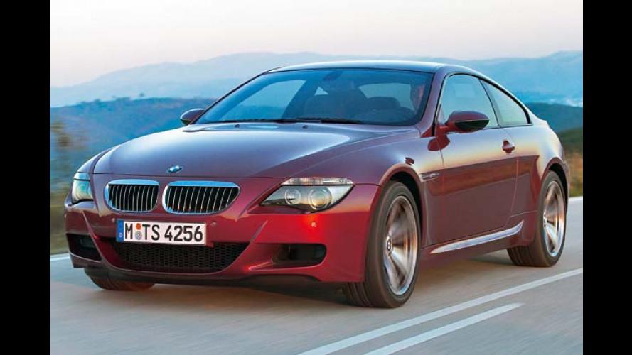 BMW M6 kommt gewaltig: Das Ultra-Coupé prescht heran