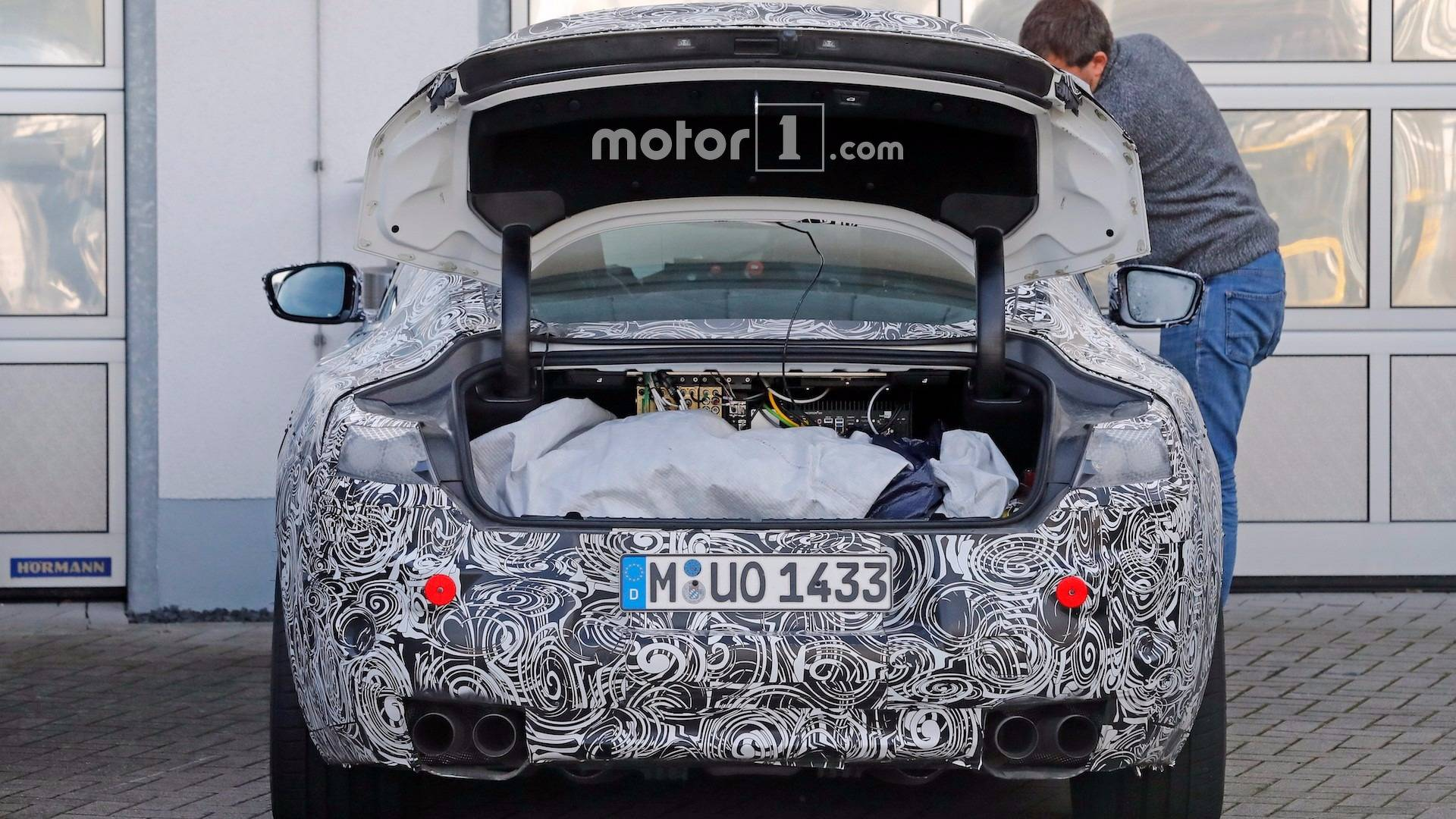 BMW M8 Hits The Nurburgring Again Shows Off New Interior
