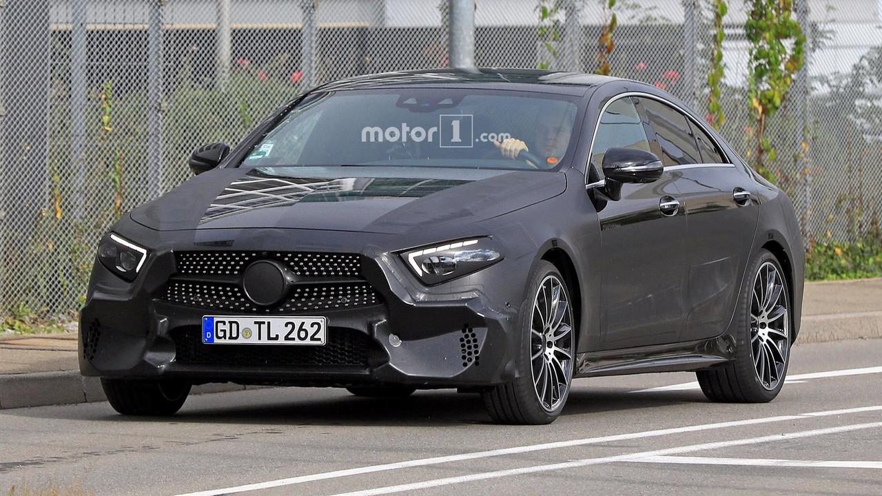 2018 Mercedes CLS yeni casus fotoğrafları
