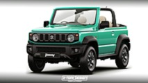 Suzuki Jimny 2018, renders