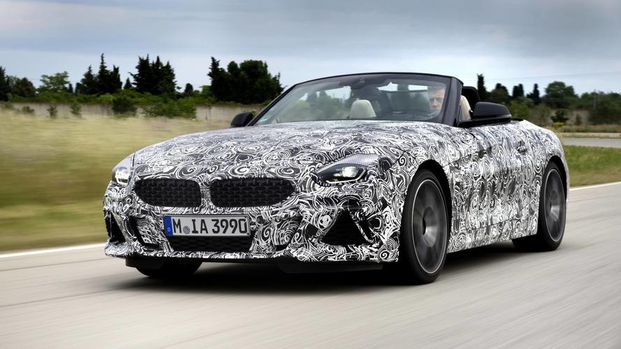 BMW Z4 M40i'nin teaser'ları yayınlandı