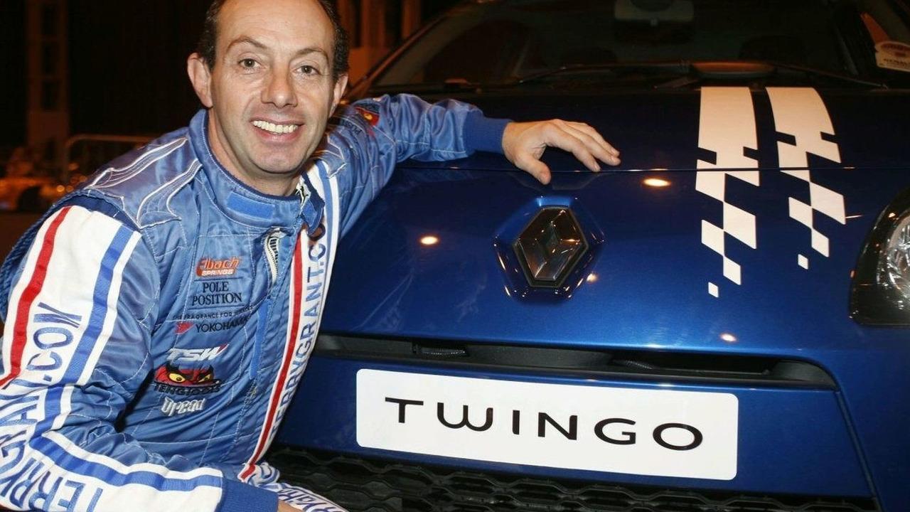 Renault Twingo & Stunt Driver Terry Grant