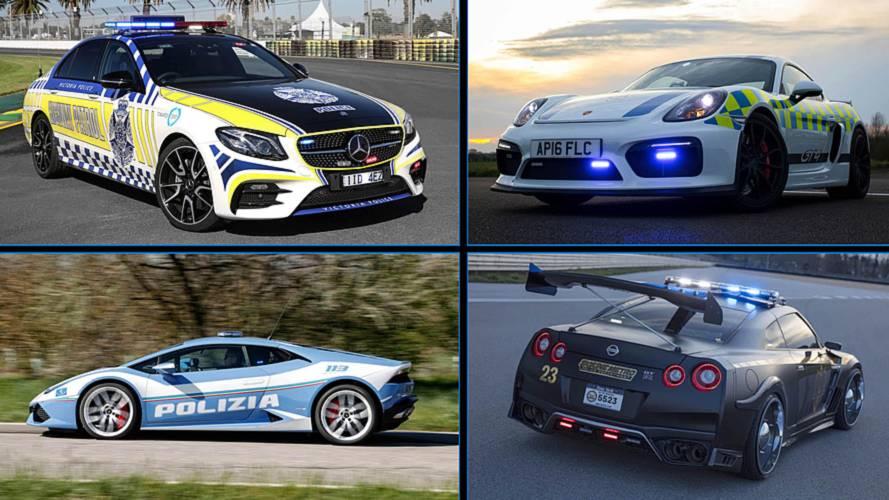 7 coches Premium de policía: ¡ladrones, lo tenéis crudo!
