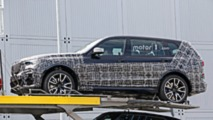 2018 BMW X7 yeni casus fotoğraflar