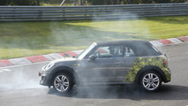 2016 MINI JCW Cabrio spy photo