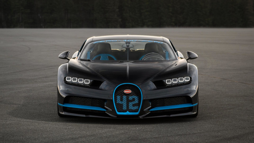 Juan Pablo Montoya et la Bugatti Chiron