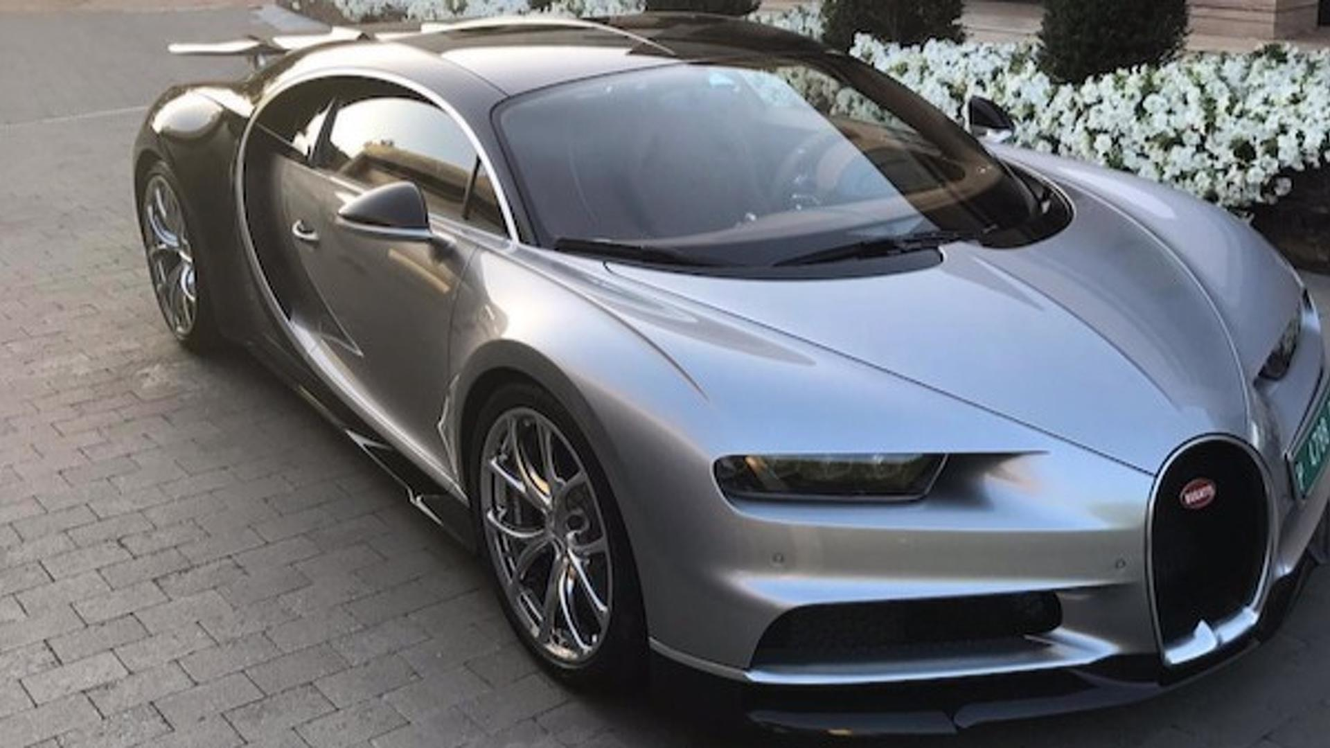 The Best New Cars By Bugatti Aston Martin And Ferrari In 2018: Cristiano Ronaldo Spotted Driving His New Bugatti Chiron
