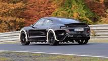 Porsche Mission E Nurburgring Spy Photos
