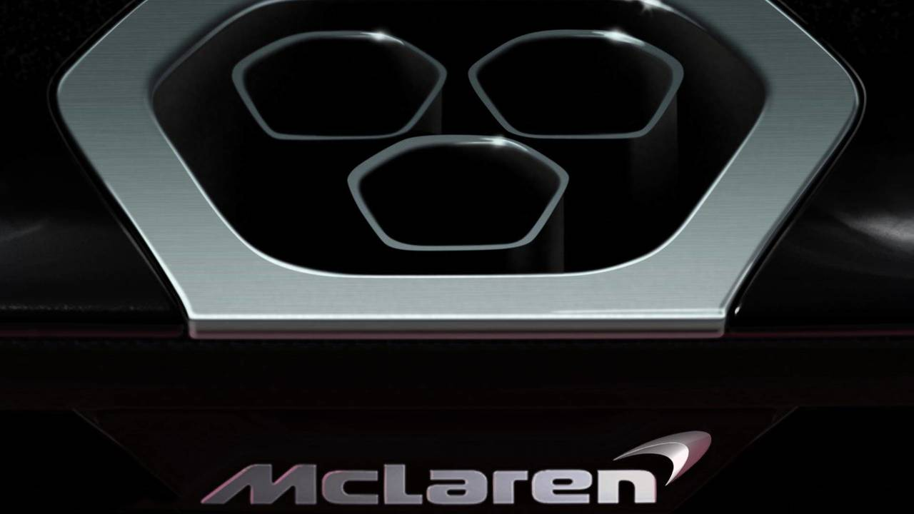 McLaren Track-Focused Car Teaser