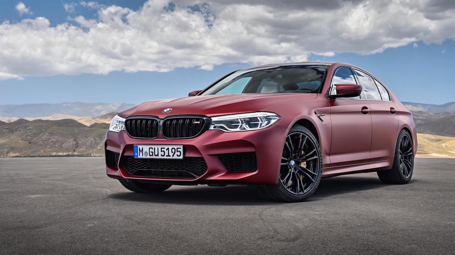 3.4 másodperc alatt van százon az új BMW M5