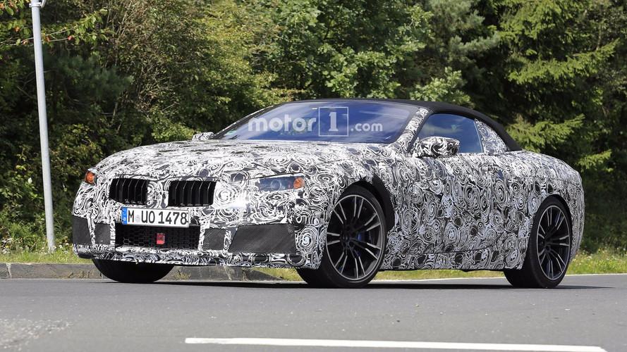 BMW M8 Cabrio 2018: fotos espía