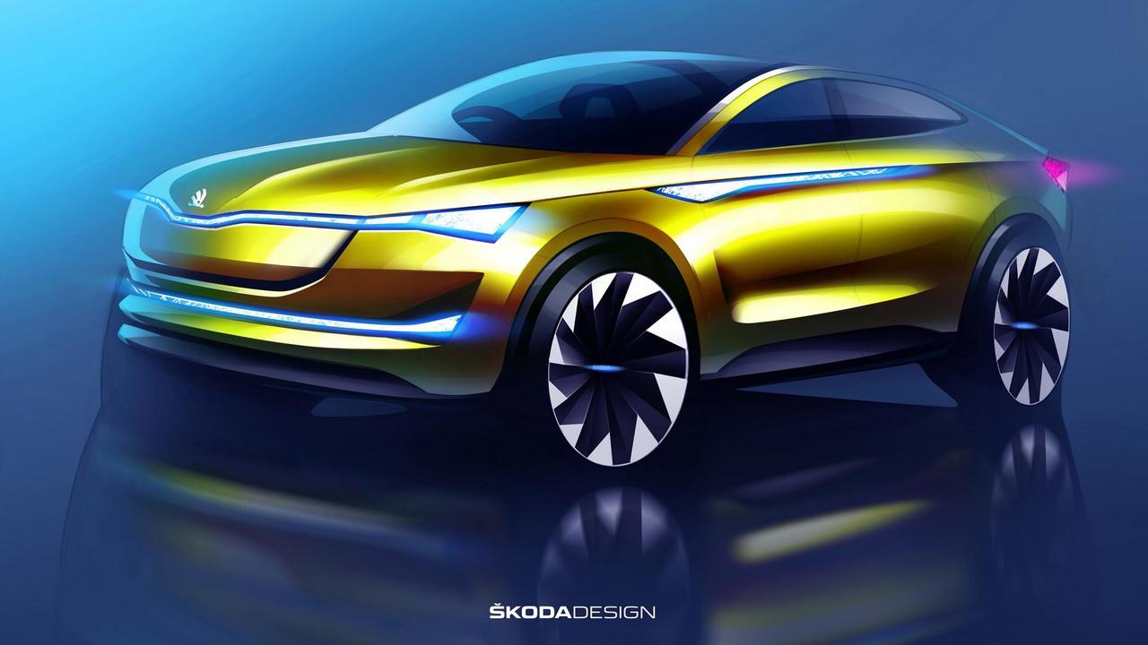 Skoda Vision E concept updated