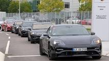 Porsche Mission E 2020 fotos espía