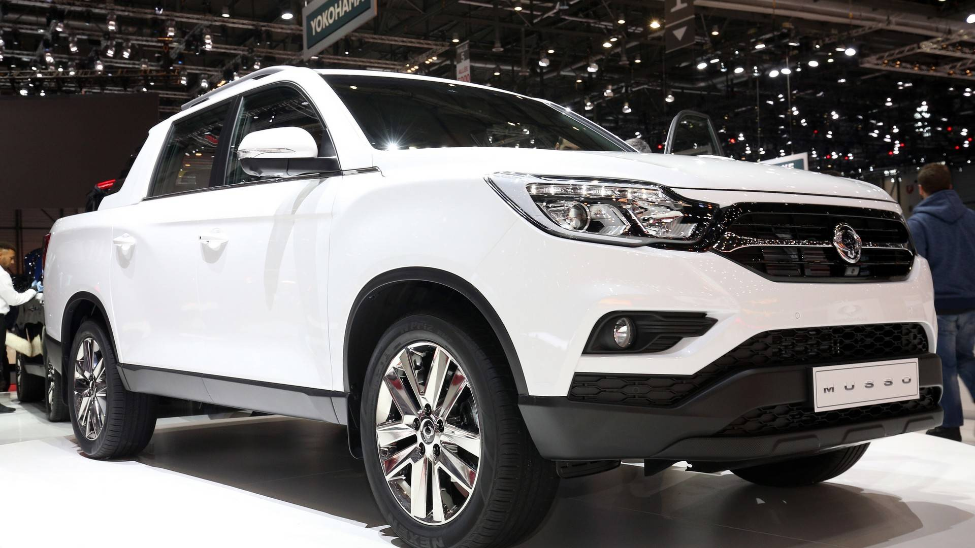 Ssang Yong Musso Car Reviews 2018 Daewoo Wiring Diagram Ssangyong Pickup Truck Debuts At Geneva Motor Show