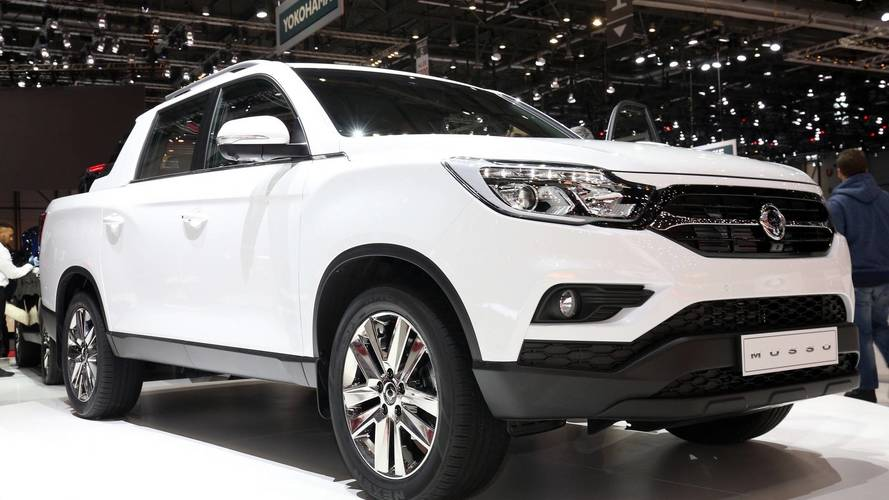 Yeni SsangYong Musso pick-up Cenevre'de tanıtıldı