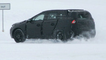 Volvo XC 60 Prototype winter testing