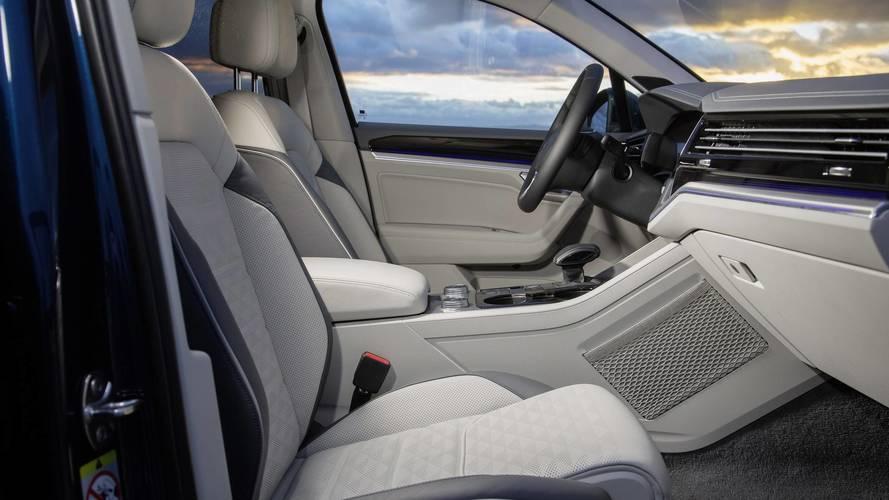 Novo Volkswagen Touareg mostra primeira imagem do interior