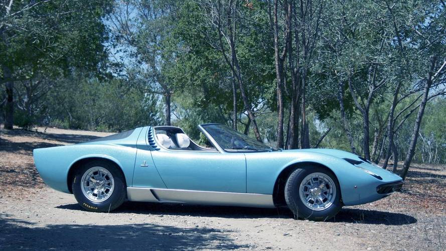 Meet the world's only Lamborghini Miura Roadster