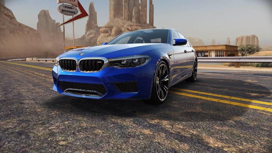 Need For Speed No Limits ile BMW M5 akıllı telefonunuzda