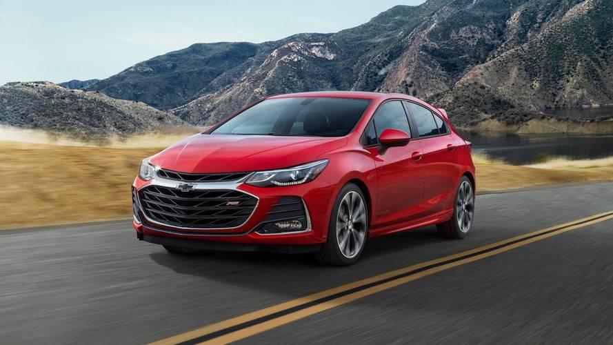 Chevrolet Cruze, Spark Get Minor Updates For 2019