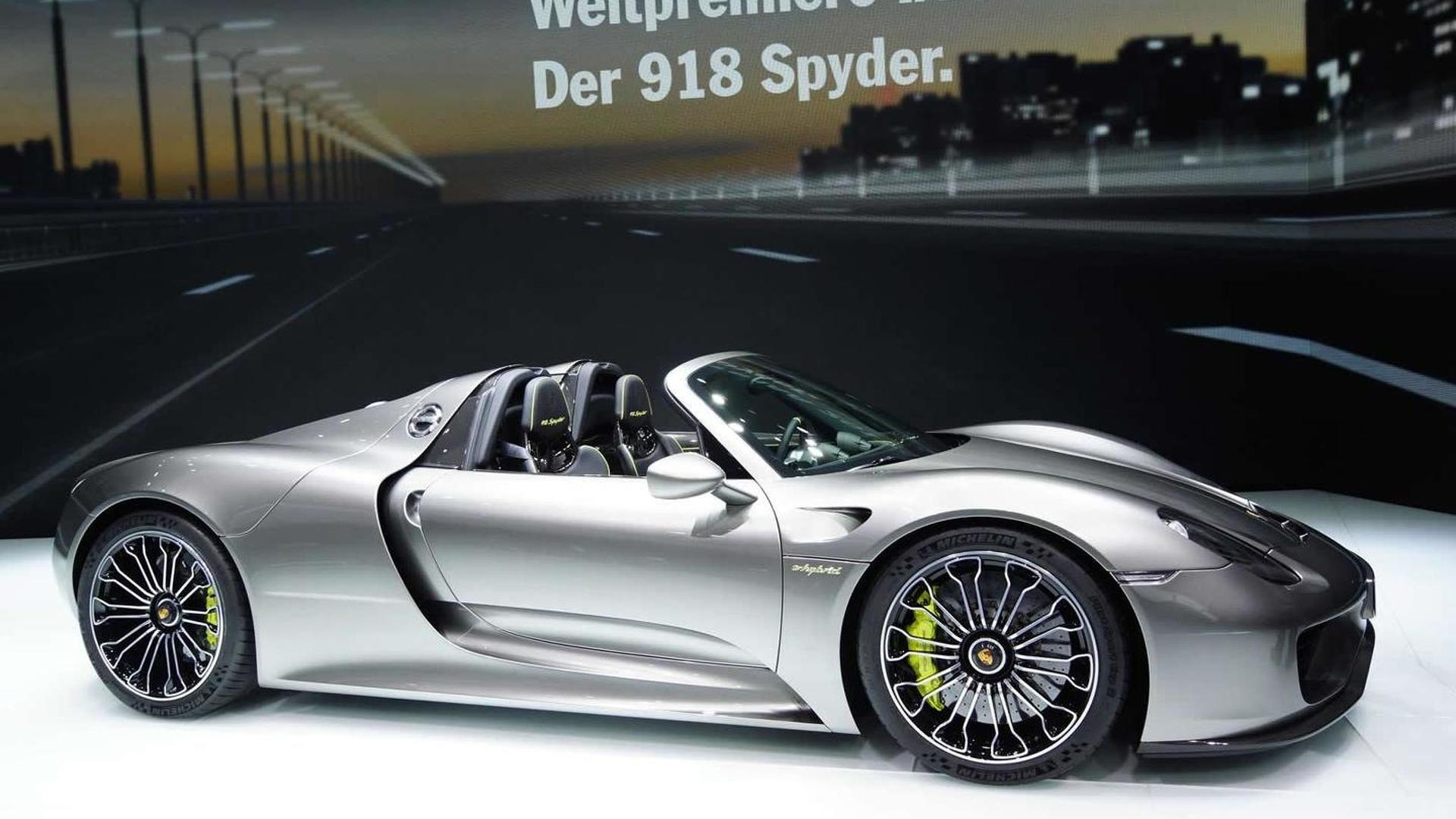 porsche 918 spyder has the potential to be even quicker on the ring video product 2013 09 17 105731