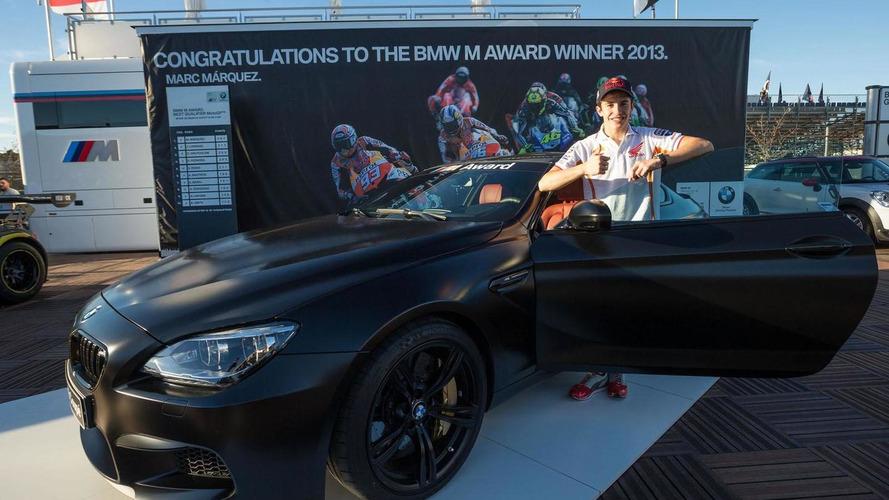MotoGP champ Marc Marquez awarded a custom BMW M6 Coupe