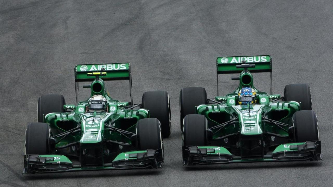 Giedo van der Garde and Charles Pic 24.11.2013 Brazilian Grand Prix