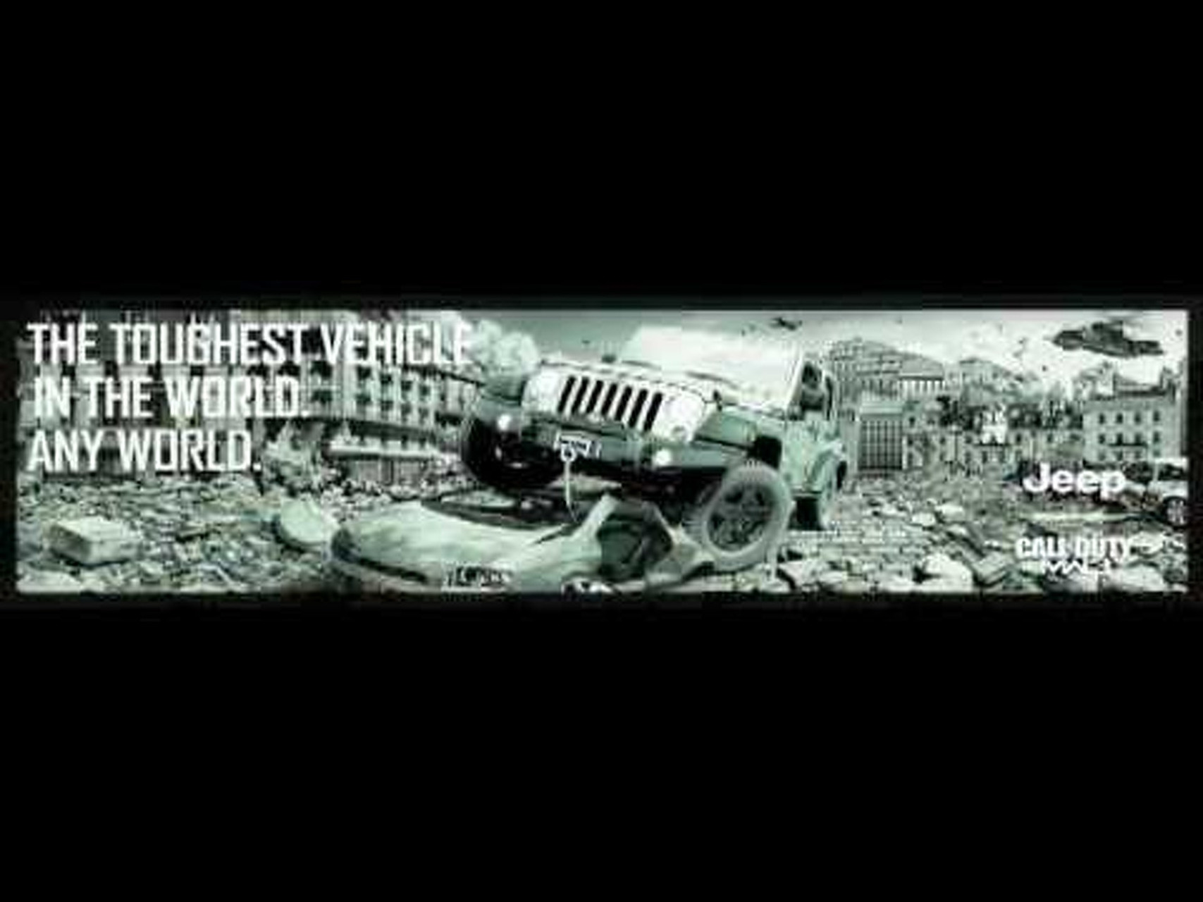 2012 Jeep Wrangler Call of Duty MW3 Special Edition