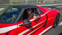 Porsche 918 Spyder avec Marc Webber