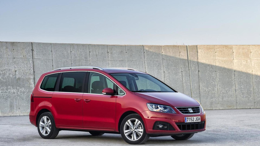 SEAT Alhambra facelift brings minor styling tweaks and more efficient engines [video]