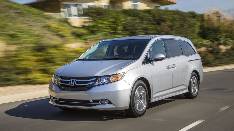 2017 Honda Odyssey could be offered with all-wheel drive