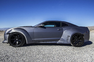 This All-Wheel Drive Chevy Camaro is a SEMA Showstopper