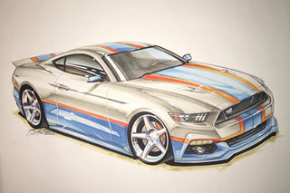 Richard Petty to Build 500 'King' Ford Mustangs for 2017
