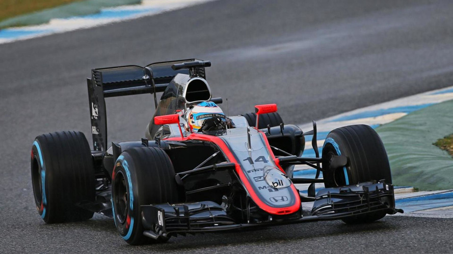 Alonso waiting to set McLaren-Honda goal for 2015