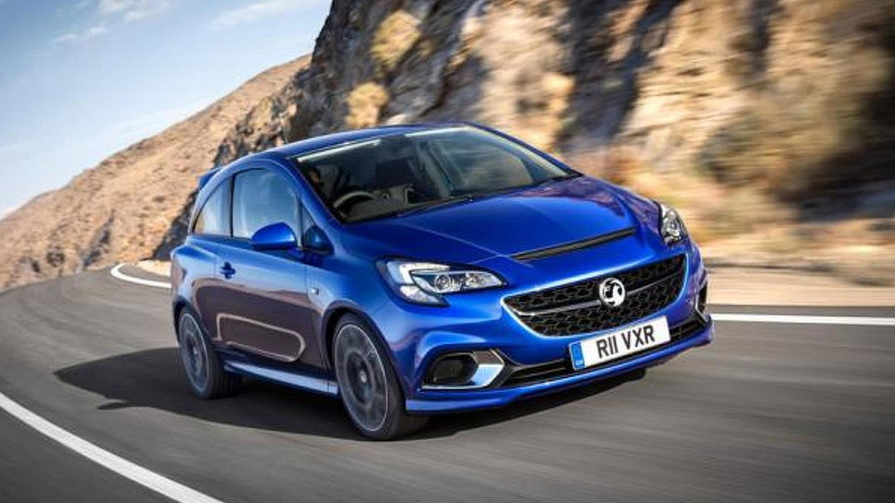 2015 Opel Corsa OPC leaked official photo