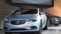 2016 Buick Cascada live at NAIAS