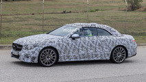 Mercedes E-Class Convertible spy photo