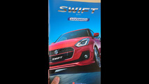 2017 Suzuki Swift Japanese brochure