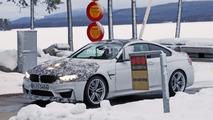2018 BMW M4 CS spy photo
