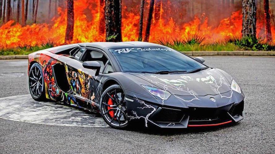 Lamborghini Aventador Super Hero