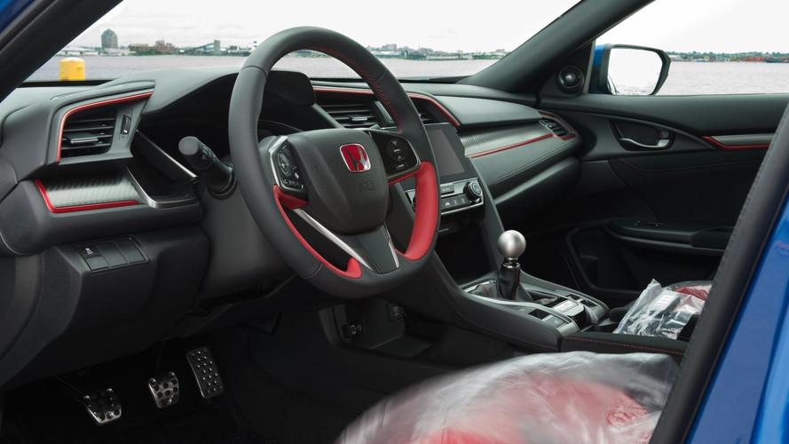 Première Honda Civic Type R