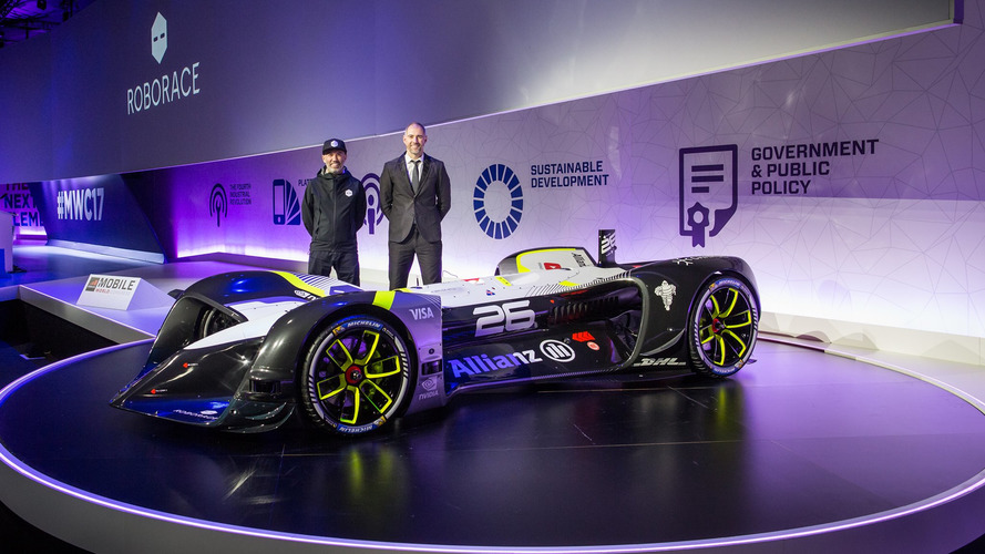 Roborace unveils world's first autonomous electric race car